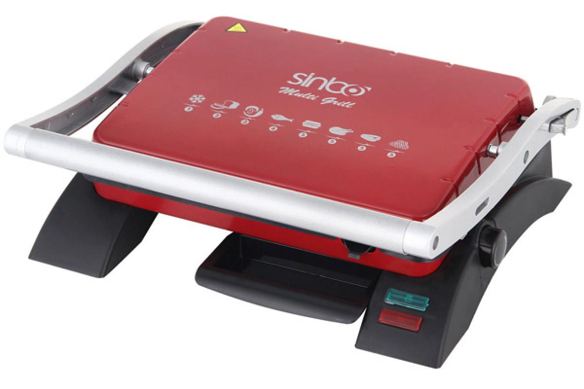 Электрогриль Sinbo SSM 2529 2000Вт красный