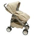 BabyLux Carita 205S (8 колес) - прогулочная коляска бежевая
