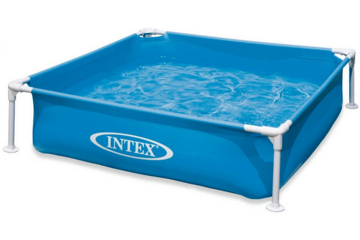 Intex Бассейн каркасный детский, синий 57173