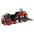Автомобиль-трейлер + трактор-погрузчик (в коробке) Mammoet 56825_PLS