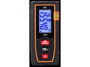 Дальномер лазерный RGK D30  дальность 0.3-30м точность ±2мм
