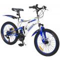 Capella G20S650 велосипед детский двухколесный (синий белый)