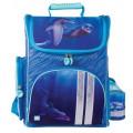 Ранец Brauberg, для начальной школы, девочка, Дельфин, 20 литров, 38*29*16 см