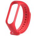 Ремешок силиконовый для Mi Band 4, красный