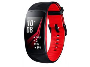 Умный браслет Samsung Gear Fit 2 Pro, черно-красный (S)