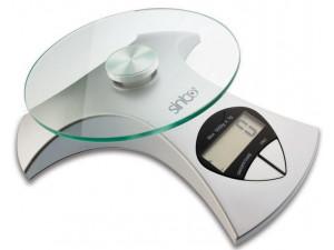 Весы кухонные электронные Sinbo SKS 4512 макс.вес:5кг серебристый