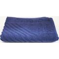 Коврик махровый Алтын Асыр 50х70 темно-синий