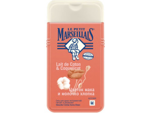 Le Petit Marseillais Гель для душа Цветок Мака и Молочко хлопка 250мл