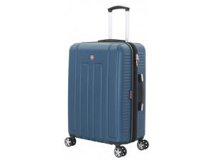 Чемодан WENGER VAUD синий, АБС-пластик, 69 x 30 x 48 см, 99 л, WGR6399343177