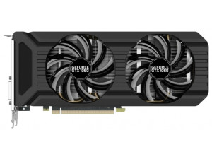 Видеокарта Palit PCI-E PA-GTX1060 DUAL 6G nVidia GeForce GTX 1060 6144Mb 192bit GDDR5 1506/8000 DVIx1/HDMIx1/DPx3/HDCP Bulk