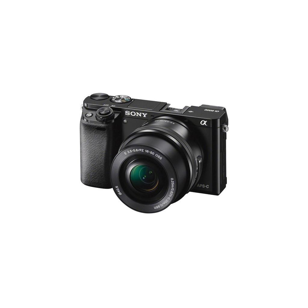Фотоаппарат Sony Alpha A6000 kit 16-50 f/3.5-5.6 OSS, черный