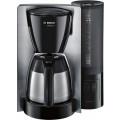 Кофеварка капельная Bosch TKA6A683 1200Вт нержавеющая сталь/черный