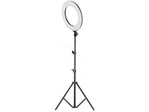 Кольцевая LED лампа 35 см со штативом и держателем для смартфона