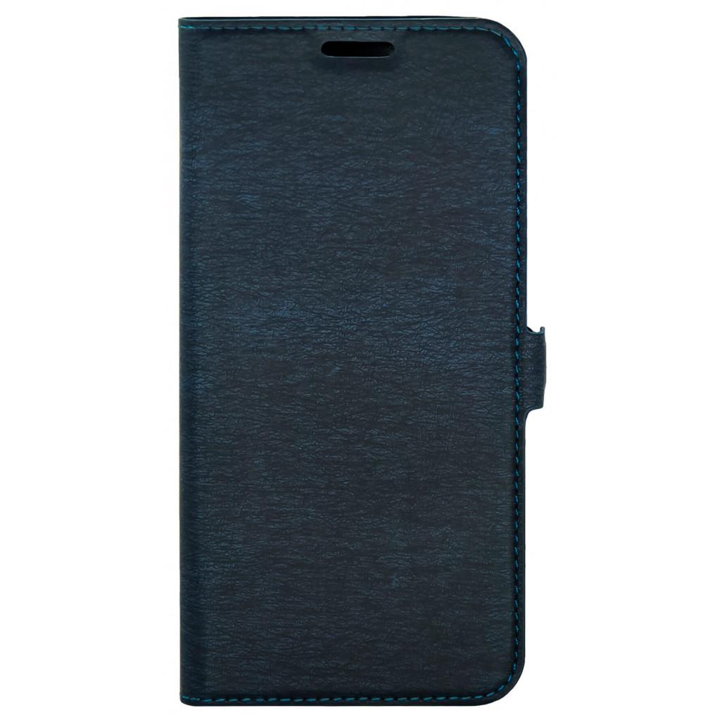 Чехол-книжка для Xiaomi Redmi Note 8 (синий), BoraSCO