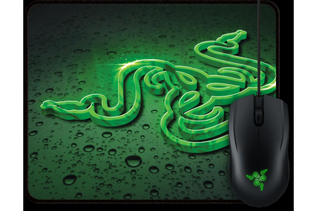 Игровой комплект мышь и коврик Razer Abyssus 2000 + Goliathus Speed Terra