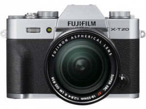 Фотоаппарат Fujifilm X-T20 Kit18-55mm F2.8-4.0 R LM OIS серебро уценка 7437