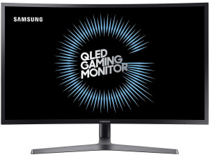 """Монитор Samsung 31.5"""" C32HG70QQI темно-серый"""