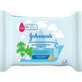 Влажные салфетки Johnson's Антибактериальные для маленьких непосед 25 шт