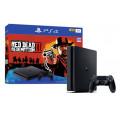 Игровая приставка Sony Playstation 4 Slim (1TB) + RDR2