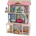KidKraft Деревянный дом для Барби Карамельная Саванна (Sweet Savannah) с мебелью