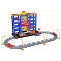 Dave Toy Dave Toy Парковка с 6 машинками - игровой набор 32007