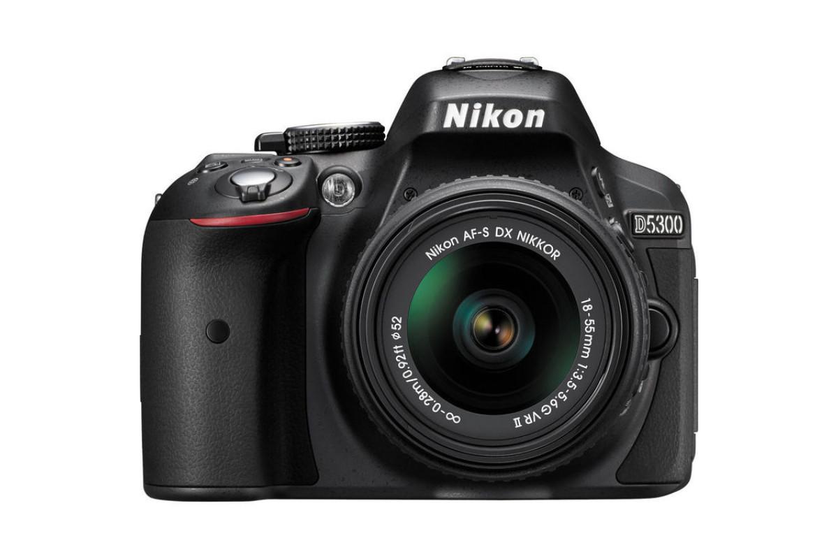 Зеркальный фотоаппарат Nikon D5300 Kit 18-55 VR II (