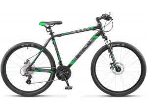 "Велосипед Stels Navigator 500 MD V020 Черный/Зеленый 26Ø (LU082392) 16"""