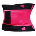Фитнес пояс для похудения CleverCare, фуксия, размер XL