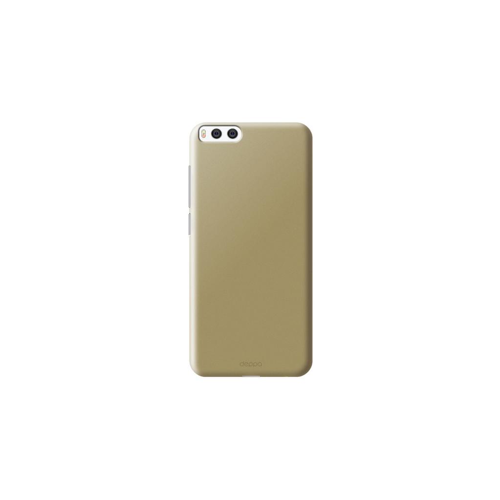 Чехол клип-кейс для Xiaomi Mi6 золотой, Deppa Air Case