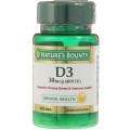 Витамин Д3 400МЕ Nature's Bounty таблетки №100