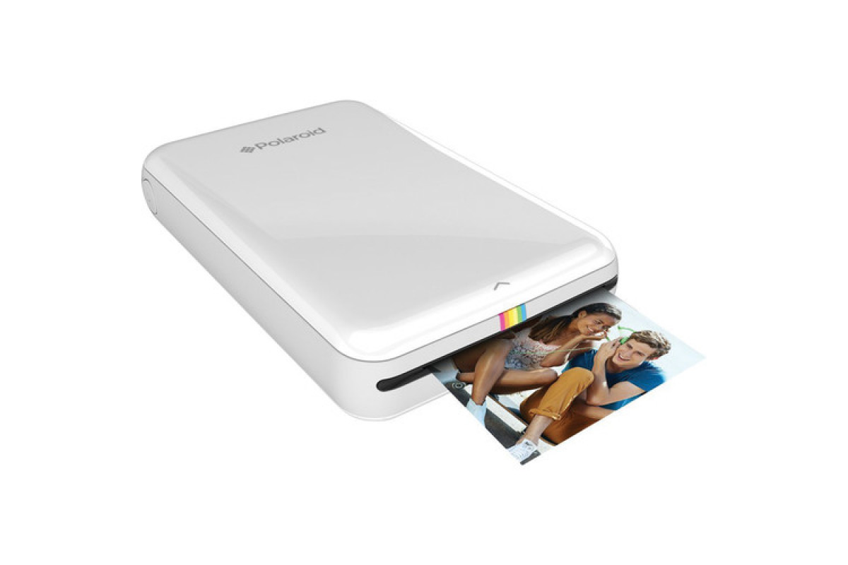 Карманный принтер Polaroid Zip, белый