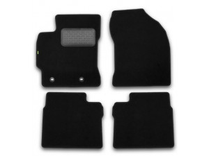 Коврики в салон Klever Standard TOYOTA Corolla 2013->, сед., 4 шт. (текстиль)