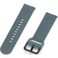 Силиконовый ремешок для часов Small One для Huami Amazfit GTS, сине-зеленый, 20 мм