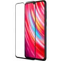 Защитное стекло для Xiaomi Redmi Note 9 Full Screen (3D) Full Glue черный, Redline