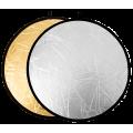 Отражатель 2в1 Raylab RF-01 золотистый/серебристый 110см