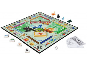 Моя первая Монополия настольная игра Hasbro