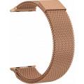Ремешок сетчатый на магните для Apple Watch 40мм, розовое золото