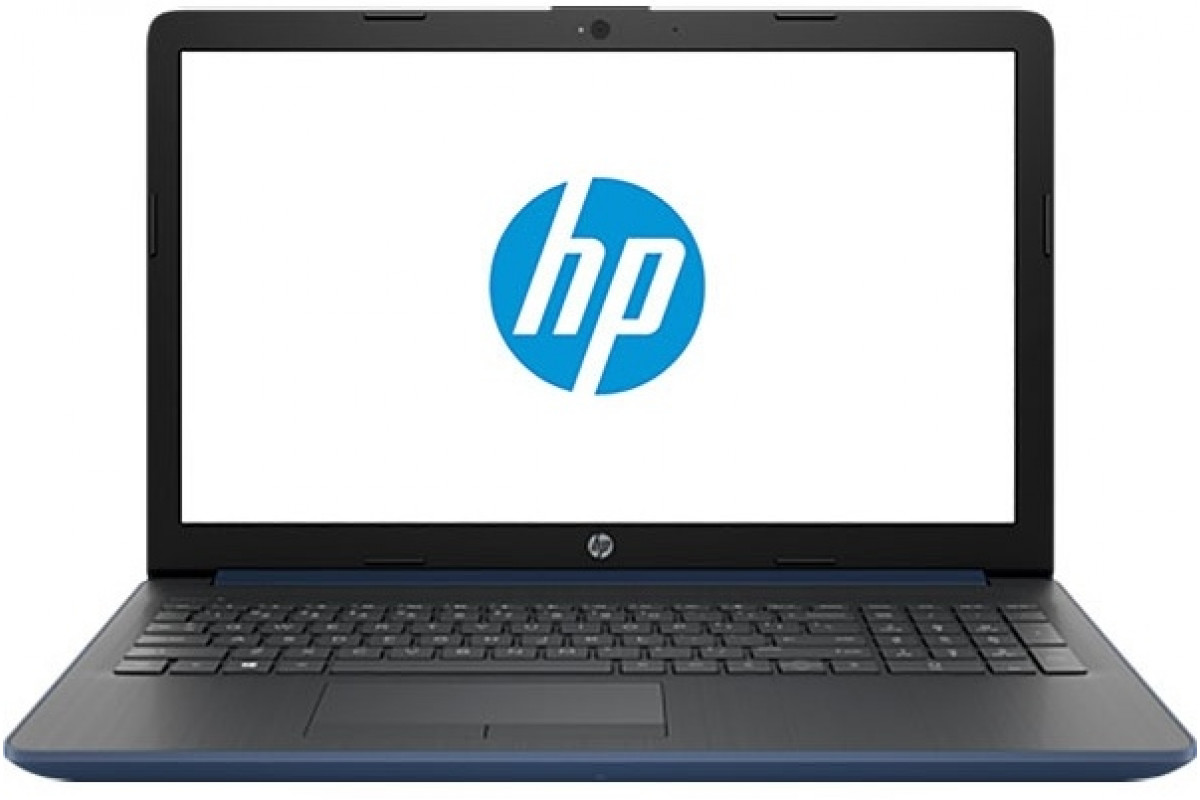 "Ноутбук HP 15-da0077ur <4JY26EA> i3-7020U (2.3)/4Gb/500Gb/15.6""HD AG/Int Intel HD/No ODD/Cam HD/Win10 (Blue)"