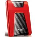 "Внешний жесткий диск A-Data USB 3.1 2Tb AHD650-2TU31-CRD HD650 DashDrive Durable 2.5"" красный"