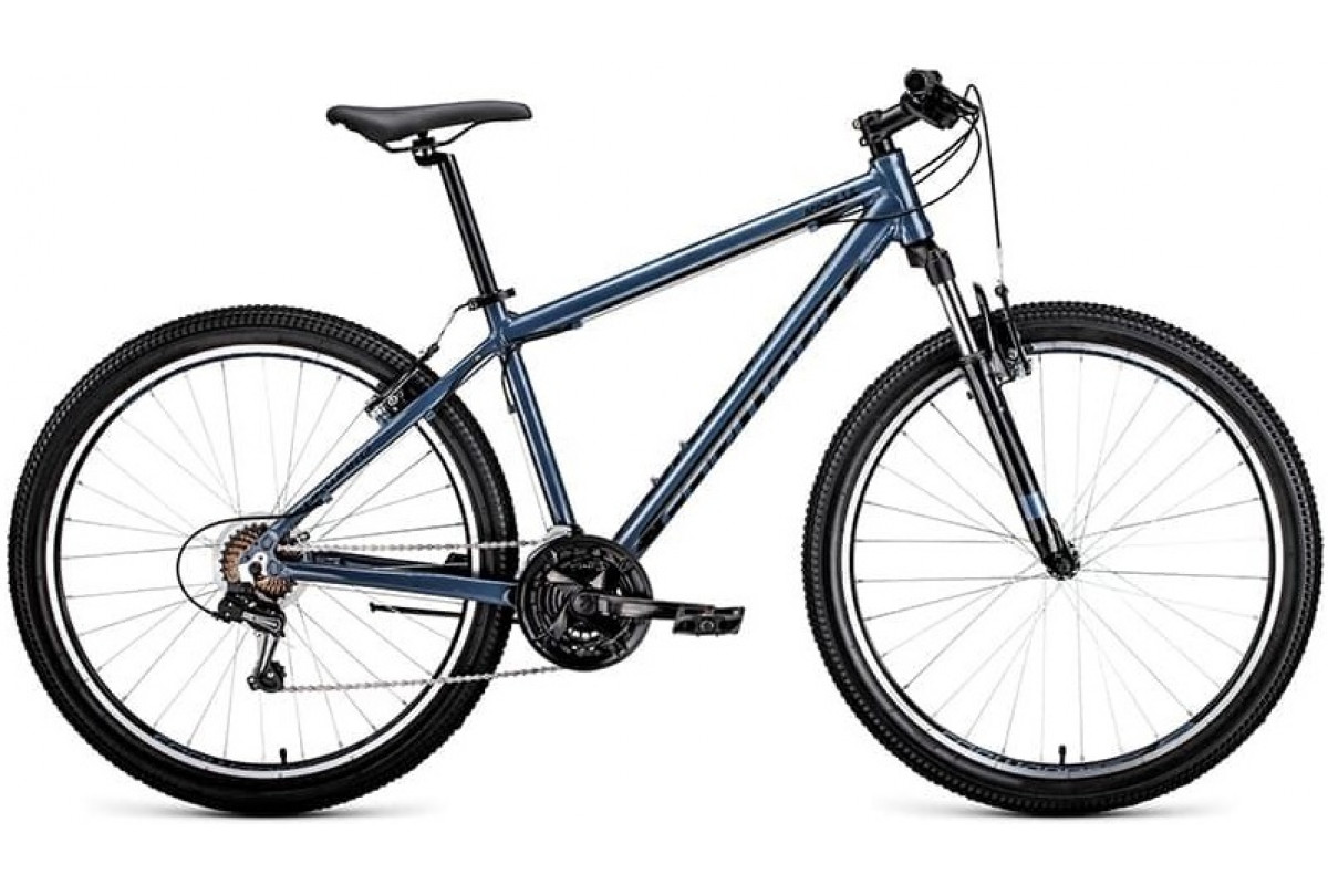 "Велосипед 27.5"" Forward Apache 1.0 Серый/Черный 18-19 г 19'"