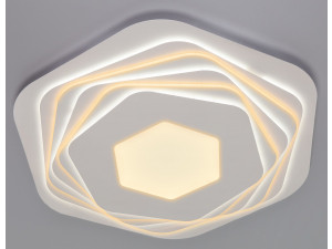 Потолочный светодиодный светильник Eurosvet Salient 90153/6 белый