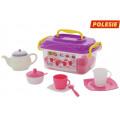 Набор детской посуды Алиса на 4 персоны (19 элементов) (в контейнере)