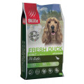 Корм для собак низкозерновой Blitz Holistic Adult Fresh Duck, утка, 1,5 кг