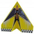 Бумажный самолет, размах крыльев 1024 мм Kit, желтый