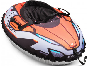 Small Rider Asteroid Sport - надувные санки-тюбинг, оранжевый
