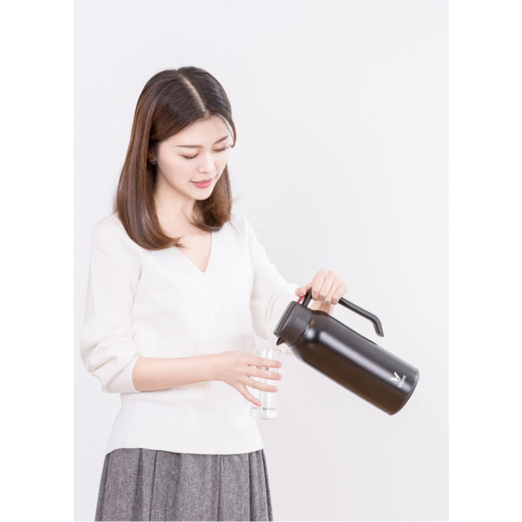 Термокувшин Xiaomi Viomi Steel Vacuum Pot (1,5 л), черный