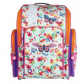 Ранец Brauberg для начальной школы, девочка, Бабочка в цветах, 36х26х14 см