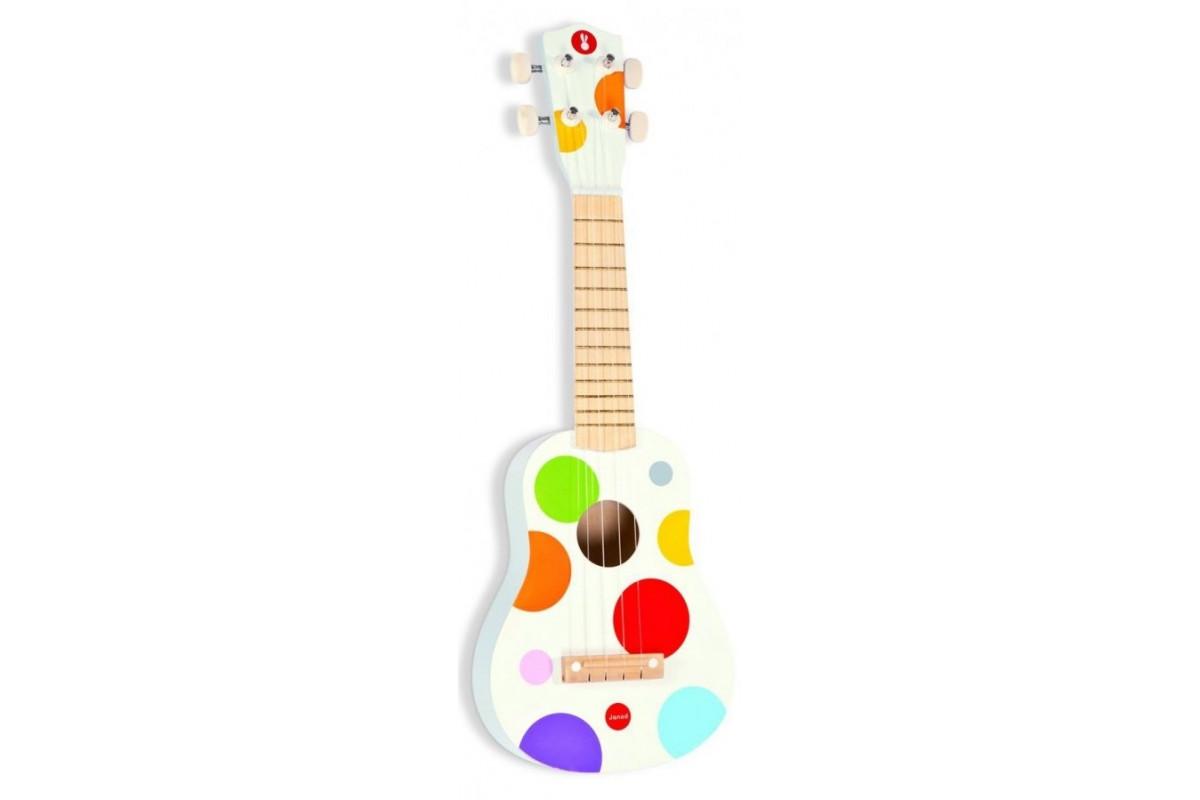 Janod Гитара гавайская; белый