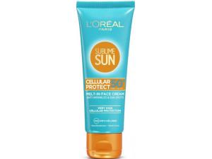 L'Oreal Sublime Sun Экстра защита крем для лица SPF50+ 75мл