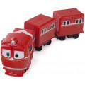 Silverlit Robot Trains Паровозик с двумя вагонами Альф